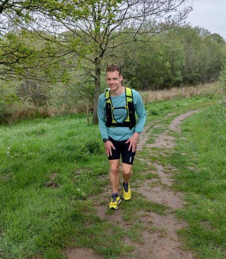 Addie uit Best rent 500 kilometer en verpulvert record Pieterpad; 'Telkens als ik instortte dacht ik aan mijn overleden vader'