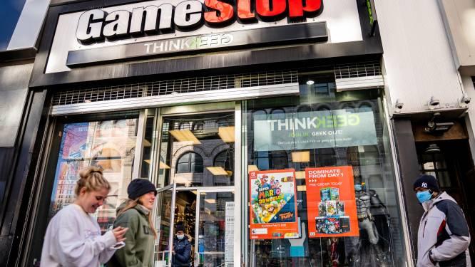 Opnieuw speculatie met Gamestop: aandeel schiet 104 procent hoger