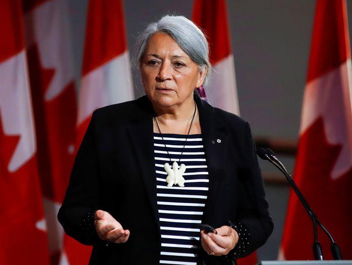 Mary Simon is als eerste vrouw uit de inheemse gemeenschap benoemd tot gouverneur-generaal van Canada.