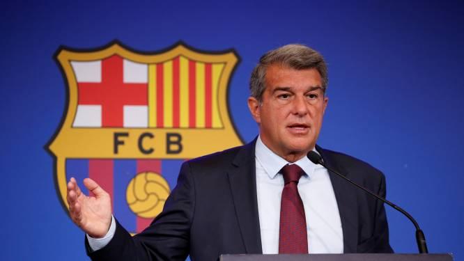 """Barça-voorzitter Laporta over noodgedwongen vertrek Messi: """"FC Barcelona staat ook boven de beste speler ter wereld"""""""