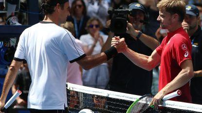"""6-2, 6-2 en 6-0. Goffin kansloos tegen Federer op US Open: """"Niets lukte"""""""