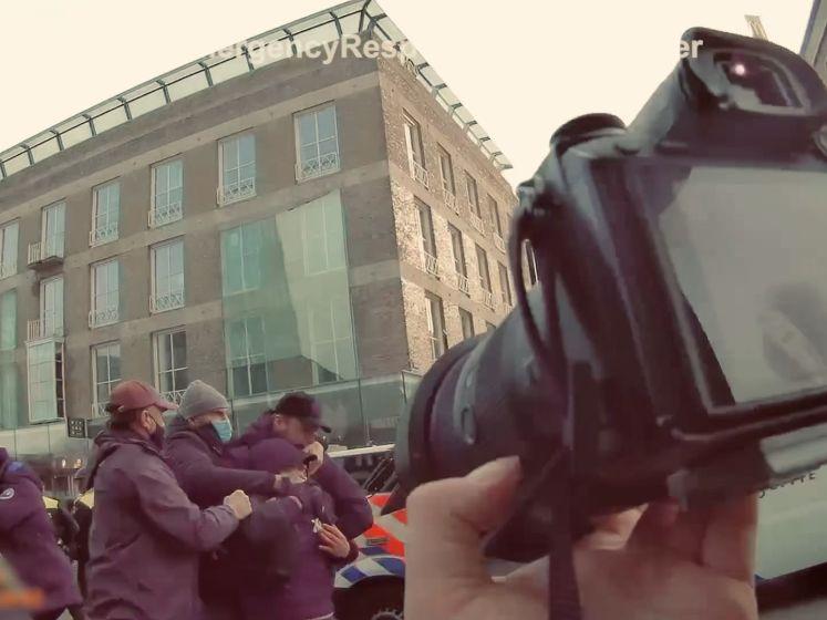 Heftige bodycambeelden van fotograaf tijdens rellen in Eindhoven