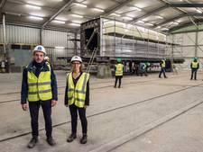 Belgische bruggenbouwers aan het werk voor Zwolle