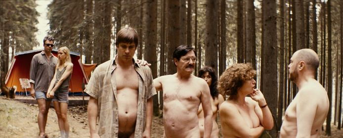 Oma nudist In New