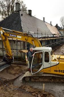 Dak eraf voor grondige restauratie van fort Wierickerschans