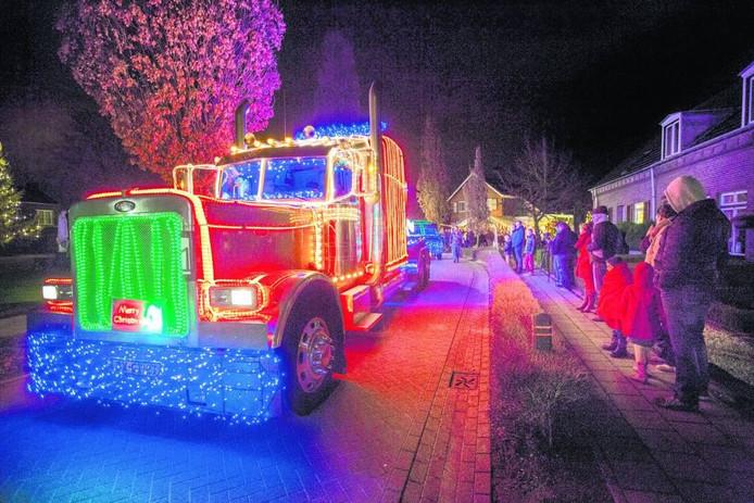 Elk jaar is er al een 'Christmas Truckrun' in de gemeente Peel en Maas.