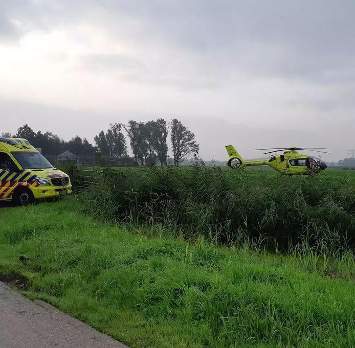 Het slachtoffer raakte gewond en is naar het ziekenhuis gebracht.