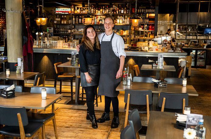 Anne van Kommer en Stijn Hoogeveen van restaurant Koeien en Kaas.