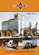 De voorzijde van het boek 'Hogra, een stoere vrachtwagen uit Ravenstein'. Het kost 29,90 euro en kan onder andere besteld worden bij de schrijver: wobbereitsma@hotmail.com