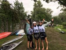 Teunissen, Otten en Leenders Europees kampioen kanoslalom