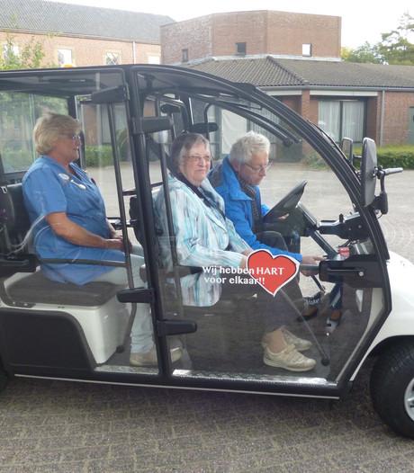 Wèp-bus in Wijbosch in gebruik genomen