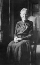 Staatsieportret van Georgine Mirandolle dat vlak voor haar overlijden werd gemaakt.