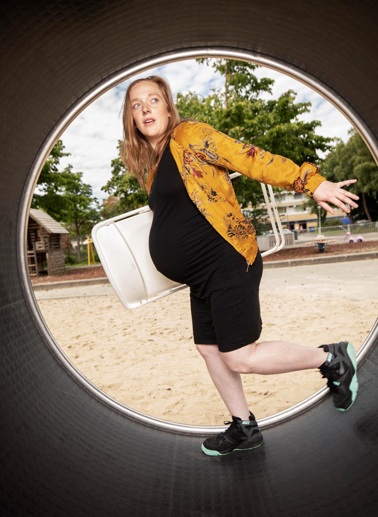 Tessa Schram. Beeld Harmen De Jong