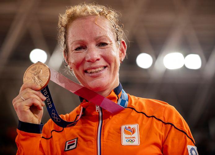 Brons: Kirsten Wild (baanwielrennen, omnium, vrouwen)