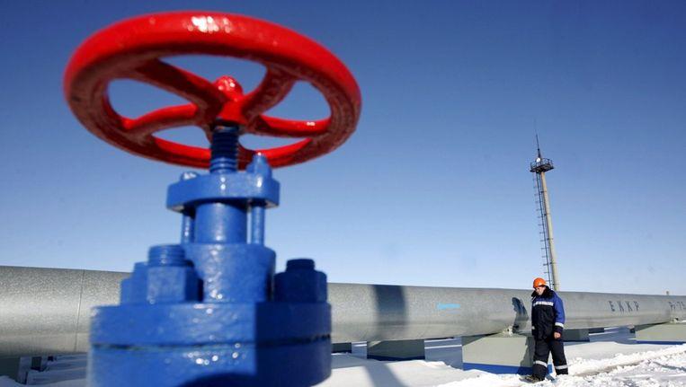 Gazprom heeft dinsdag de prijs die Oekraïne voor aardgas moet betalen met ruim veertig procent verhoogd. Beeld epa