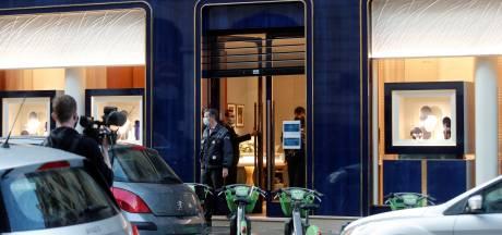 Miljoenenbuit brutale juwelenroof Parijs grotendeels teruggevonden: twee aanhoudingen