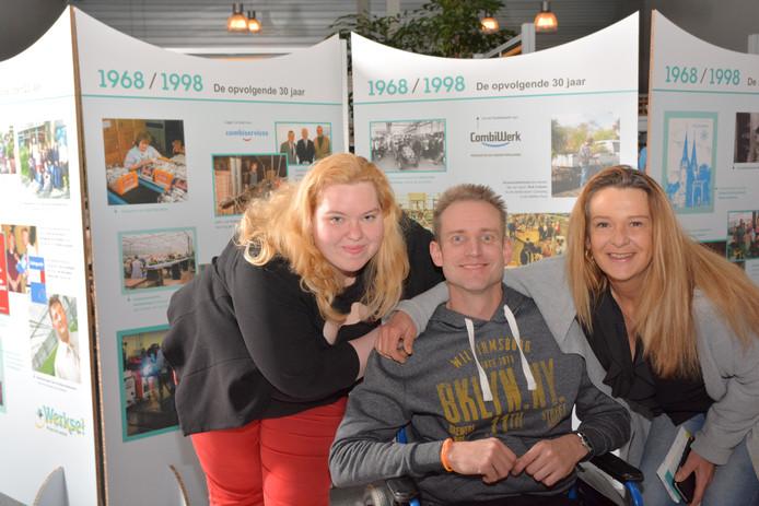 Medewerkers van Werkse! voor de jubileumtentoonstelling.