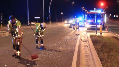Zware aanrijding op kruispunt N41: één bestuurder gewond