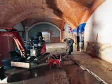Gerenoveerde crypte ingezegend in Oudenbosch