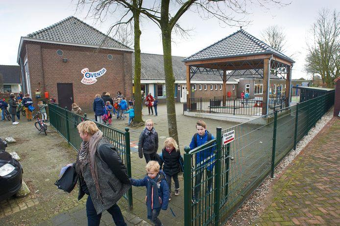 Basisschool 't Oventje in Zeeland, een archieffoto uit 2017.
