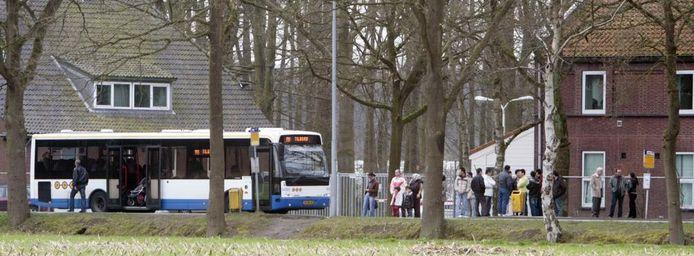 Beatrixoord in Eindhoven wordt sinds kort bevolkt door extra veel Chinese asielzoekers.foto Ton van de Meulenhof