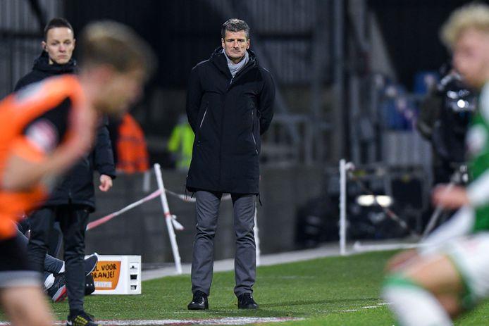 Wim Jonk neemt het met FC Volendam op tegen PSV in de beker.