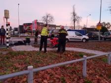 Motorrijder onderuit in Barneveld