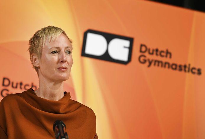 KNGU-directeur Marieke van der Plas.