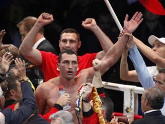 Wereldkampioen Vitali Klitschko wil president van Oekraïne worden