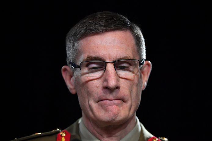 De bevelhebber van het Australische leger, Angus Campbell, biedt zijn excuses aan aan het Afghaanse volk.