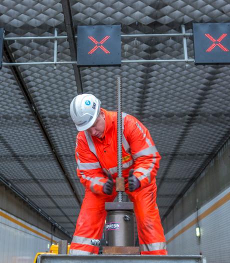 Heinenoordtunnel twee nachten dicht voor onderhoud