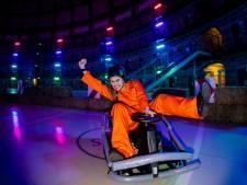 Racen als Mario Kart door Koepelgevangenis: met drifthendel maar zonder rem