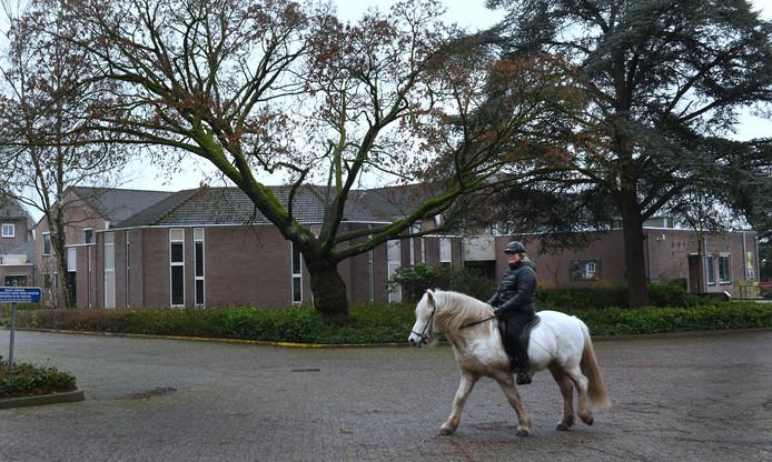 Een beeld van het pand in Amerongen.