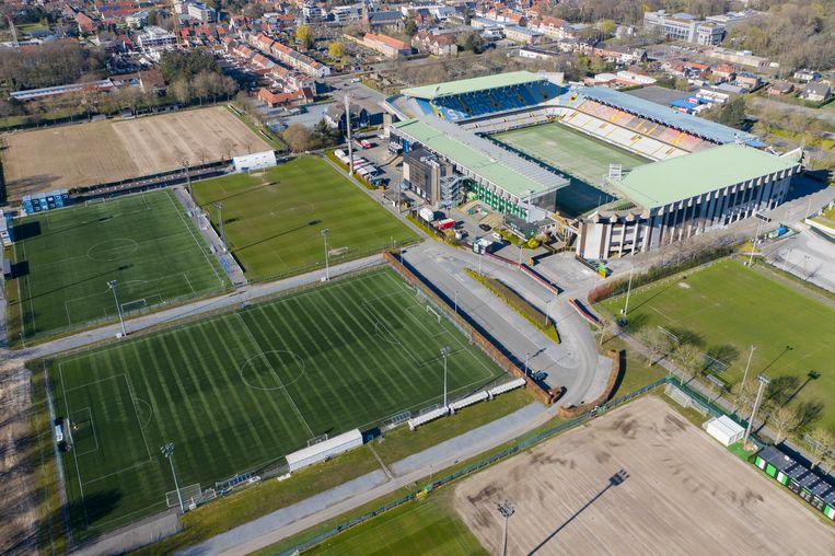 Het huidige Jan Breydelstadion. Beeld Photo News