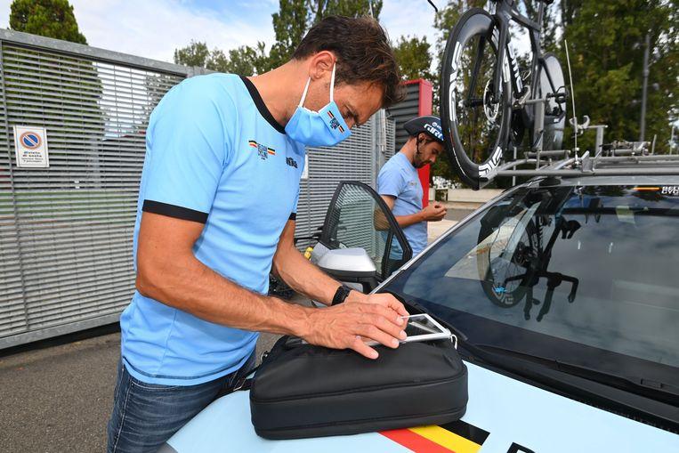 Sven Vanthourenhout was al mee met de Belgen op het WK in Imola. Beeld Photo News