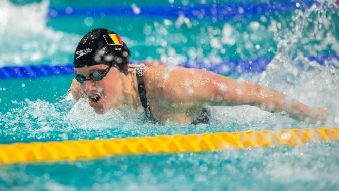 EK ZWEMMEN. Buys grijpt naast een plekje in de finale, Vanotterdijk betaalt leergeld - Belgische mannen grijpen naast finaleplek 4x100m