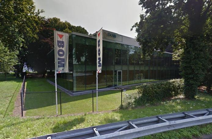 Het gebouw van BOM in Tilburg.