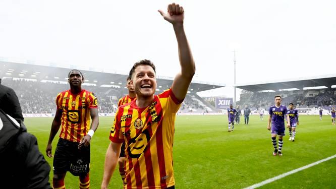 """Kerim Mrabti matchwinnaar voor KV Mechelen tegen Beerschot (0-1): """"Speciaal om te scoren tegen rivaal"""""""