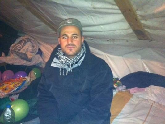 Haidi uit Irak trainde in zijn thuisland de peshmerga, strijdkrachten van Iraaks-Koerdistan die tegen IS vechten.