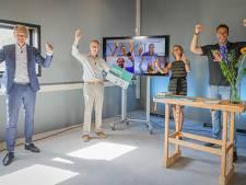 Geluidswal van de toekomst brengt studenten winst in Cleantech Battle in de Stedendriehoek