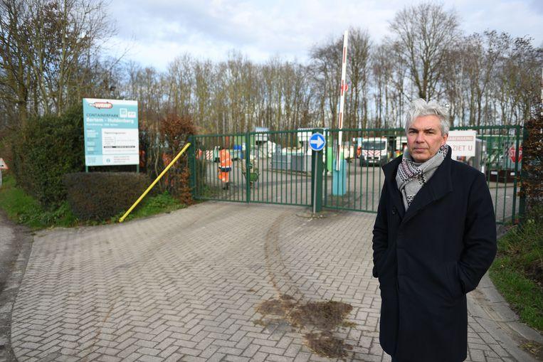 Burgemeester Danny Van Goidsenhoven.