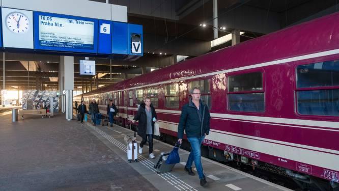 Nieuwe nachttrein vertrokken van Breda CS naar Praag