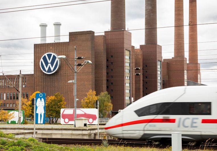 Een zorg van de Duitsers:hoe lang behoort hun auto-industrie nog tot de mondiale elite Beeld Hollandse Hoogte / Laif