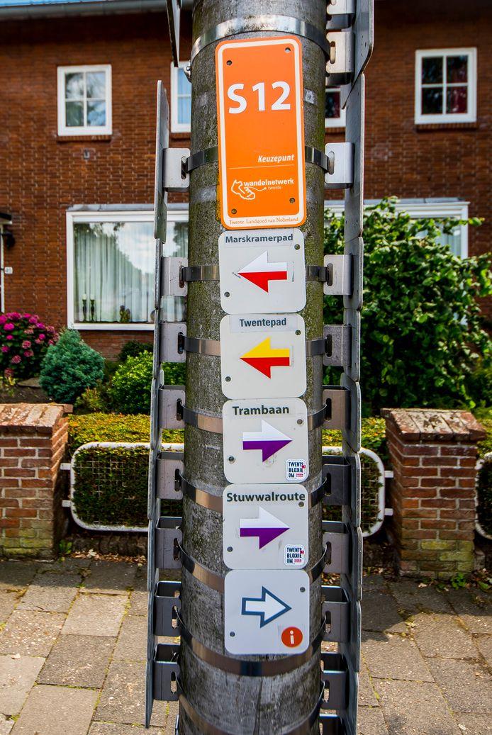 De gemeente Staphorst wil bewegen stimuleren, bijvoorbeeld door betere bewegwijzering in de openbare ruimte. Foto ter illustratie.