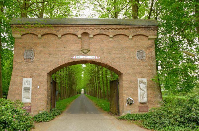 De entree van landgoed Haarendael.