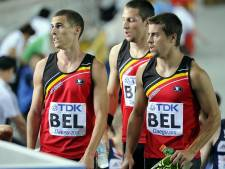 Pas de médaille pour le relais belge