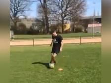 Le retour de Zinho Vanheusden sur un terrain avec un ballon