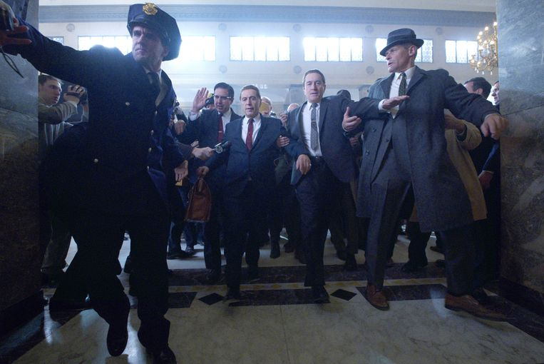 Met The Irishman levert Scorsese zijn 25ste speelfilm af. Beeld