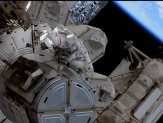 ISS-astronauten maken ruimtewandeling van bijna 7 uur