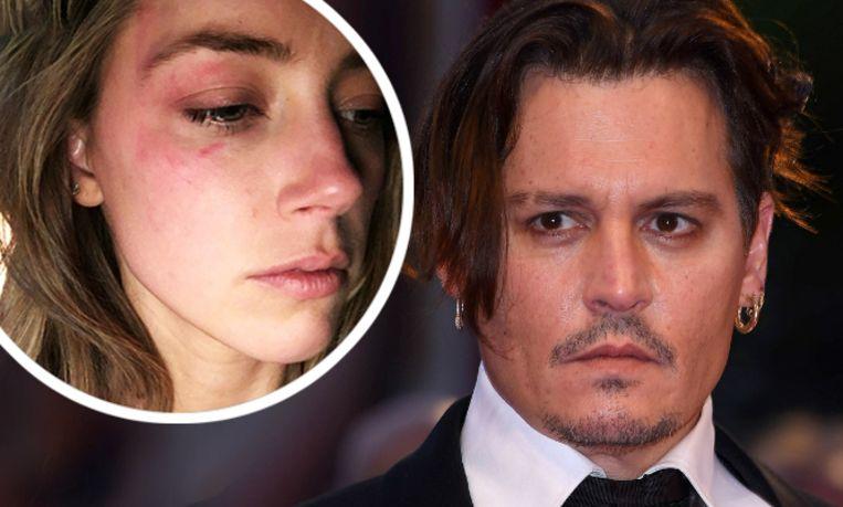 Johnny Depp en zijn ex Amber Heard